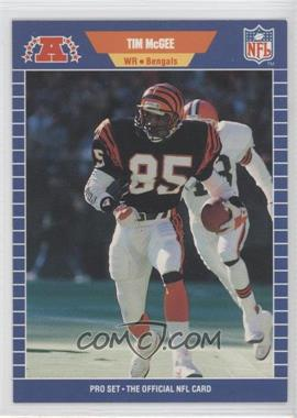 1989 Pro Set - [Base] #64 - Tim McGee