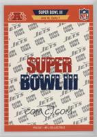 Super Bowl III - New York Jets, Baltimore Colts