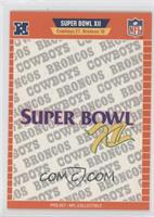 Super Bowl XII - Dallas Cowboys, Denver Broncos