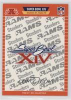 Super Bowl XIV - Pittsburgh Steelers, Los Angeles Rams