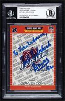 Super Bowl XXI - New York Giants, Denver Broncos [BASCertifiedBGS&n…