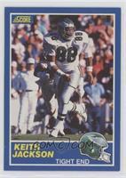 Keith Jackson (84-TE on Back) [EXtoNM]