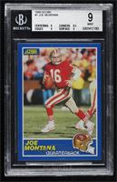 Joe Montana (TM by Helmet Logo) [BGS9MINT]