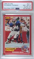 Thurman Thomas [PSA/DNA Certified Encased]