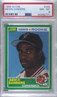 Deion Sanders [PSA 8 NM‑MT]