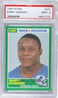 Barry Sanders [PSA 9 MINT]