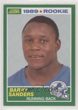 1989 Score - [Base] #257 - Barry Sanders