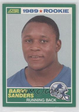 1989 Score - [Base] #257 - Barry Sanders