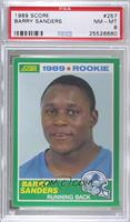 Barry Sanders [PSA 8 NM‑MT]