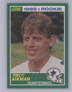 1989 Score - [Base] #270 - Troy Aikman [NearMint‑Mint+]