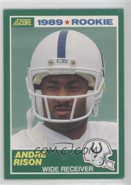 1989 Score - [Base] #272 - Andre Rison