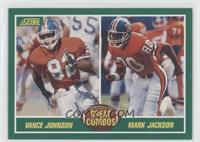 Vance Johnson, Mark Jackson