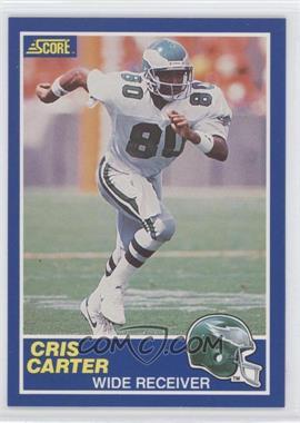 1989 Score - [Base] #72 - Cris Carter