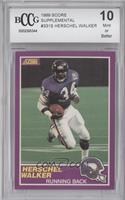 Herschel Walker [BCCG Mint]