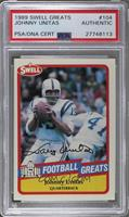 Johnny Unitas [PSA/DNA Certified Encased]