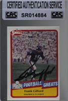 Frank Gifford [CAS Certified Sealed]