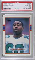 Cris Carter [PSA 10 GEM MT]