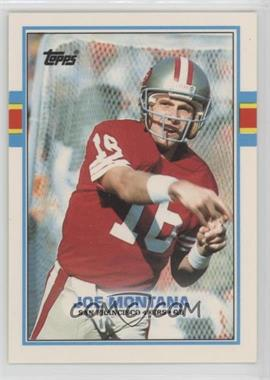 1989 Topps American/UK - [Base] #20 - Joe Montana