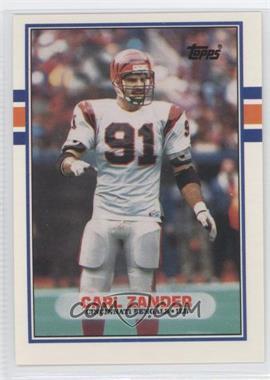 1989 Topps Traded - [Base] #117T - Carl Zander