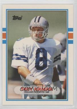 1989 Topps Traded - [Base] #70T - Troy Aikman