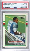 Barry Sanders [PSA 10 GEM MT]