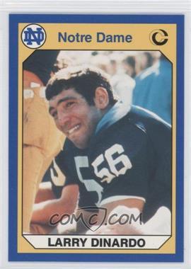 1990 Collegiate Collection University of Notre Dame - [Base] #14 - Larry Dinardo
