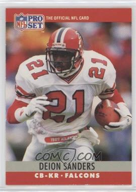1990 Pro Set - [Base] #36 - Deion Sanders