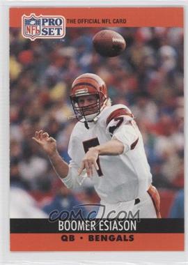 1990 Pro Set - [Base] #463 - Boomer Esiason
