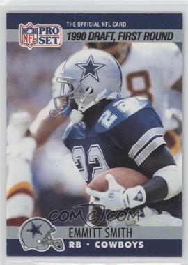 1990 Pro Set - [Base] #685 - Draft - Emmitt Smith