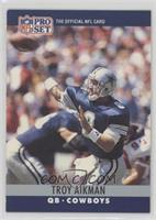 Troy Aikman (Injured complete as 1st word)