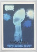 Vince Lombardi Trophy Hologram /10000