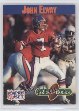 1990 Pro Set Collect-A-Books - [Base] #N/A - John Elway