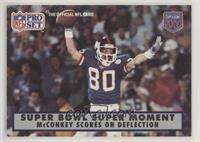 McConkey Scores on Deflection [EXtoNM]