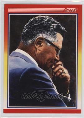 1990 Score - [Base] #603.2 - Vince Lombardi (copyright on back)