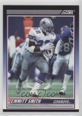 1990 Score - Rookie & Traded (Supplemental) #101T - Emmitt Smith