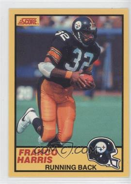 "1990 Score - Super Bowl Card Show I Franco Harris #FRHA.2 - Franco Harris (""Hall of Famer…"" in Bio)"
