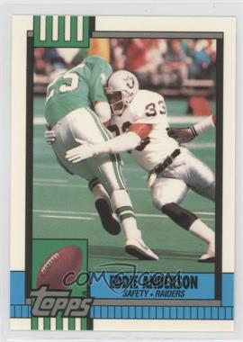 1990 Topps - [Base] - Collector's Edition (Tiffany) #293 - Eddie Anderson