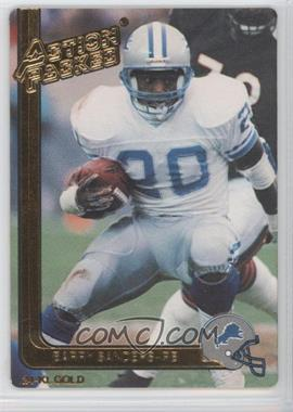1991 Action Packed - [Base] - Gold #16G - Barry Sanders