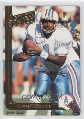 1991 Action Packed - [Base] - Gold #19G - Warren Moon
