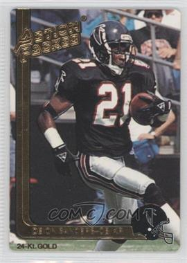 1991 Action Packed - [Base] - Gold #2G - Deion Sanders