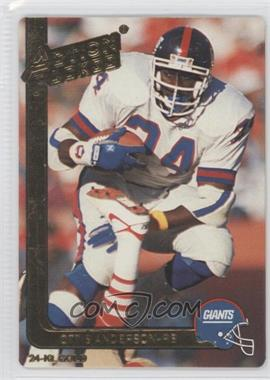 1991 Action Packed - [Base] - Gold #30G - Ottis Anderson