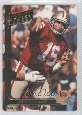 1991 Action Packed - [Base] - Gold #40G - Joe Montana
