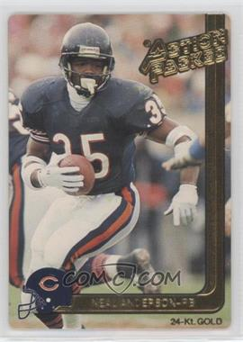 1991 Action Packed - [Base] - Gold #6G - Neal Anderson