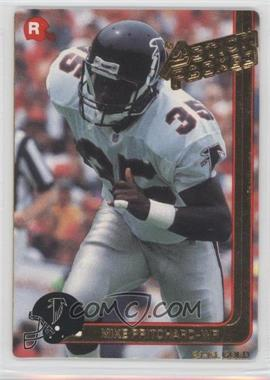 1991 Action Packed Rookies - [Base] - Gold #12G - Mike Pritchard