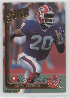 1991 Action Packed Rookies - [Base] - Gold #25G - Henry Jones