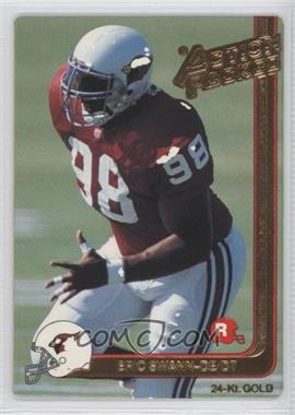 1991 Action Packed Rookies - [Base] - Gold #5G - Eric Swann