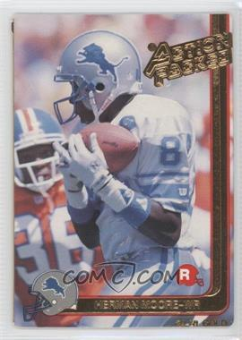 1991 Action Packed Rookies - [Base] - Gold #9G - Herman Moore