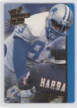 1991 Action Packed The All-Madden Team - [Base] - 24 Kt. Gold #14G - Jerry Ball
