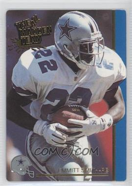 1991 Action Packed The All-Madden Team - [Base] #27 - Emmitt Smith