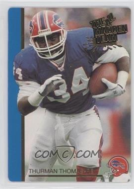1991 Action Packed The All-Madden Team - [Base] #31 - Thurman Thomas